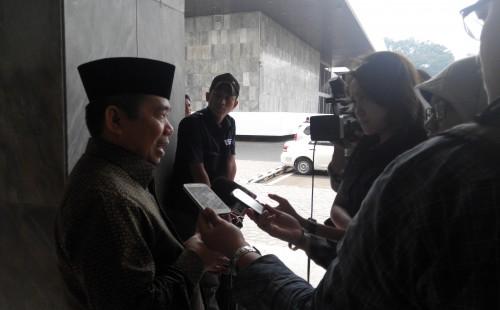 Wawancara sedang dilakukan oleh Ust Jazuli4